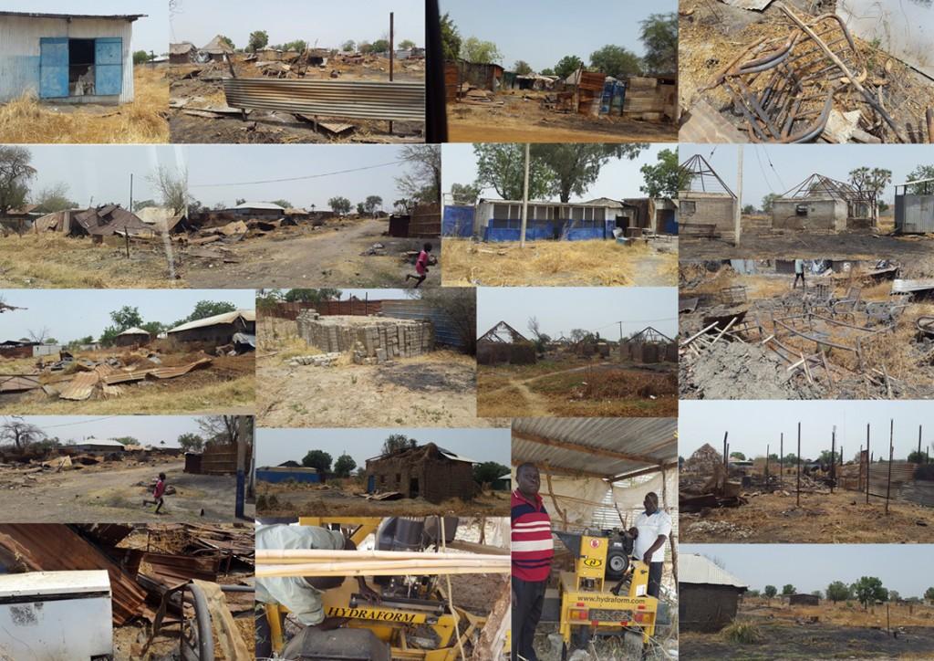The devastation of Malakal