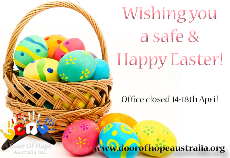 Door of hope australia happy easter happy easter negle Image collections